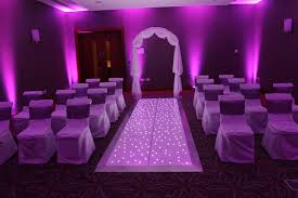 purple aisle runner starlit sparkly led floors and aisle runners starlitexpress