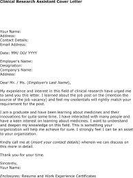 cover letter scientific research