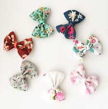 floral ribbon 7 small snap classic bows floral ribbon bow collection baby wisp