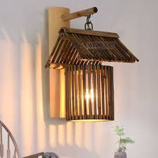 2017 new country style vintage led sconce wall lights lamp made of