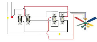 3 speed ceiling fan switch wiring diagram colors wire