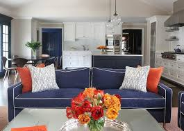 orange livingroom orange and blue living room design ideas
