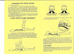 Back Pain When Getting Out Of Chair Amazon Com Spine Worx Back Realignment Device Health U0026 Personal Care