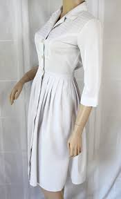 60s nurse dress uniform white costume by petticoatsplus