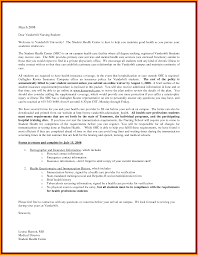 Cover Letter Example For Students Sample Application Letter For Nursing Course
