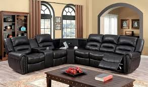 Sectional Recliner Sofa With Cup Holders Sectional Sofas Sectional Sofa Design Small Drawer Sectional