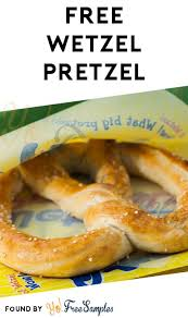 free wetzel pretzel for downloading mobile app yo free samples
