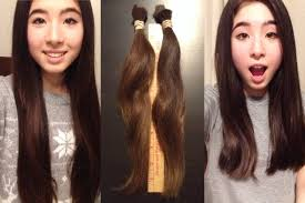 cut and inch off hair i cut a foot of my hair off thetwinsofhearts youtube
