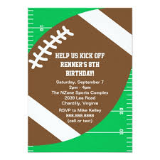 popular 25 footballs birthday party invitations popular invitation