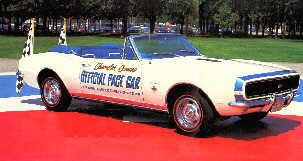 camaro pace car the 1967 pace car