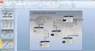 powerpoint 2007 organizational chart template create professional