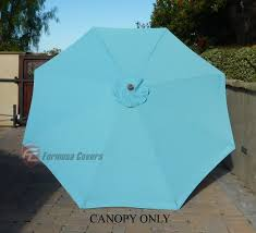 Replacement Patio Umbrella Market Patio Umbrella Replacement Cover Canopy 8 Ribs Light Blue