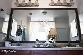 Mirror Trim For Bathroom Mirrors Mirror Trim Molding A Bath Bathroom Mirrors With Lights Lowe S
