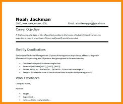 Career Objective Example Resume Resume Samples Career Objective Career Objectives Resume
