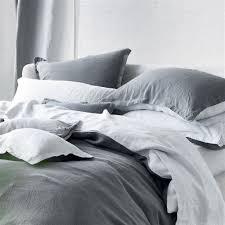 biella cool grey u0026 mist bed linen designers guild linen