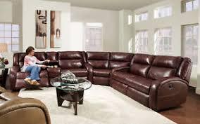 american made merritt lay flat reclining sectional sofa leather