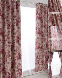 Ready Made Draperies Made Curtains And Drapes Of Typical Floral Country Style