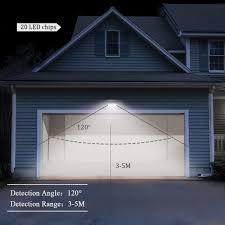 solar outdoor garage lights diy garage lighting diy garage outdoor lights solar 20 led powered