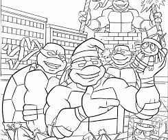 teenage mutant ninja turtles color pages coloring