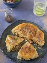 cuisine marocaine brick pastilla au poulet tourte marocaine aux feuilles de brick