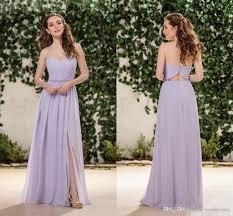 lilac dresses for weddings lilac lavender chiffon bridesmaid dresses sweetheart side