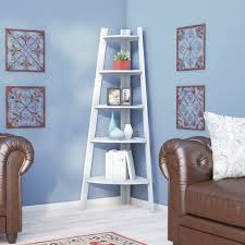Corner Unit Bookcase Charlton Home Caitlyn Corner Unit Bookcase Reviews Wayfair