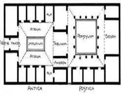 plan concrete ancient roman house floor plan ancient roman concrete ancient