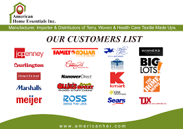 home essentials list our customers american home essentials inc