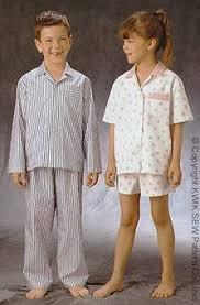 kwik sew 2905 unisex children pajamas