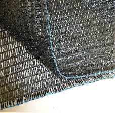 raw shade cloth