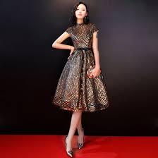 beautiful graduation dresses beautiful gold graduation dresses 2018 a line princess high neck