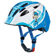 cratoni akino childrens helmet pirate blue white glossy bike24
