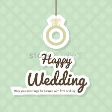 wedding wishes logo happy wedding wishes vector image 1791555 stockunlimited