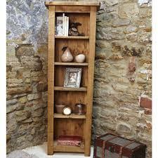 wooden corner bookcase furniture home affordable narrow wood bookcase with drawers five