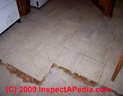 Asbestos In Basement by Questions U0026 Answers How To Identify Floor Tiles Or Sheet Flooring