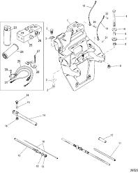 mercruiser bravo i xr xz sterndrive and transom assembly