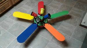 primary color ceiling fan hton bay 5 blade 52 inch ceiling fan primary colors fan