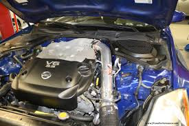 nissan 370z cold air intake 2003 nissan 350z n a j tune performance