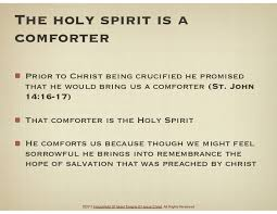 Holy Spirit My Comforter Who Is The Holy Spirit