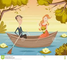cartoon boy and in love stock photography image 3959242