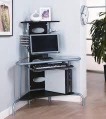 Space Saving Corner Computer Desk Space Saving Corner Desk To Utilize Corner My Office