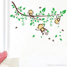 monkey wall decals roselawnlutheran pinknbluebaby fresh monkey wall decals