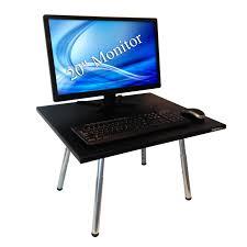 Convert Sitting Desk To Standing Desk by Standing Desk Conversion Kit Best Home Furniture Decoration