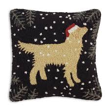 hooked pillow collection from dann and