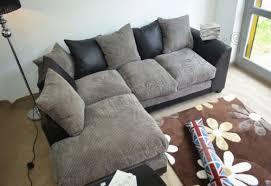 Dylan Black And Grey Corner Sofa Corner Sofas - Dylan sofa