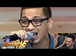 jhong hilario haircut jhong hilario sings halik in showtime youtube