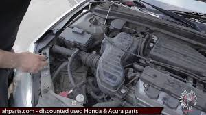97 honda civic starter air intake resonator box how to replace install fix change 01 02