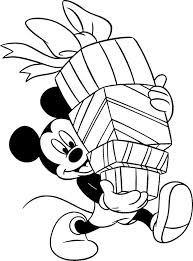 coloring pages free disney christmas printable coloring pages
