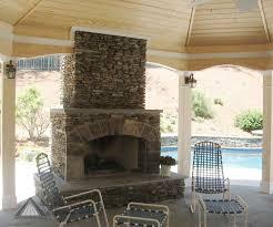 stack stone fireplace diy ideas 2120