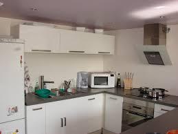 cuisine bois et gris modele cuisine blanc laqu best cuisine noir et blanc laqu amazing